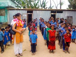 Aladin's charity work